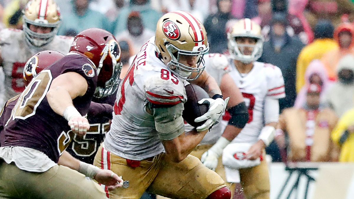 Where 49ers George Kittle Falls Within Rob Gronkowski S