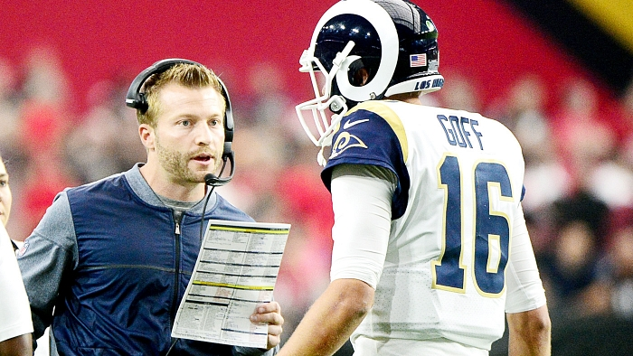 Undefeated Rams are heavy favorites over 49ers in Week 7 matchup